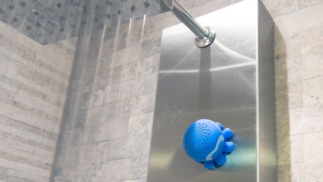 Speaker Creatures Water Resistant Bluetooth Shower Speakers Shaped Like Snails And Octopi