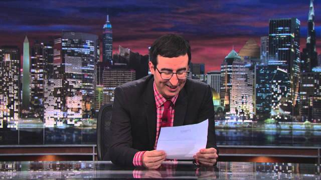 John Oliver Talks About The Massive Amount Of Food Waste In America