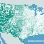 Nobody Lives Here, A Fascinating Map of the Many Areas in the United States With Zero Population