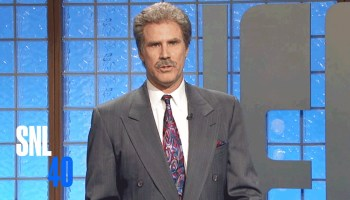 Alex Trebek Shows Off His Mad Rapping Skillz Reading the Lyrics in