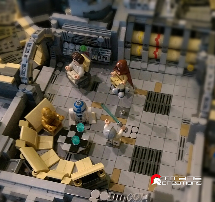 LEGO Millennium Falcon by Titans Creations