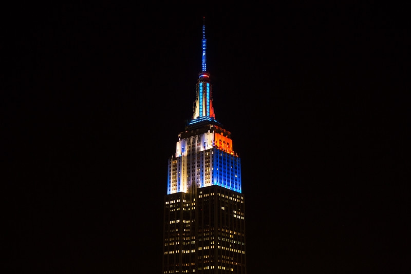 Empire State Building Light Show Honors Famous Artworks From The Whitney  Museum Collection