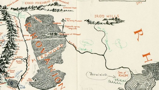 A Google MapsStyle Mockup of MiddleEarth From Lord of the Rings – Lord of the Rings Detailed Map