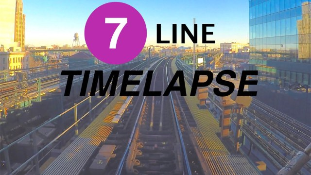 3323b1369ae Beautifully Hypnotic Timelapse Footage of Riding the 7 Subway Train From Manhattan  to Queens