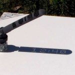 A 3D Printed Sundial That Displays the Time in Digital Format Without the Use of Electronics
