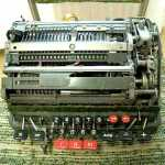 A Vintage Mechanical Calculator Spins Wildly While Trying to Divide by Zero