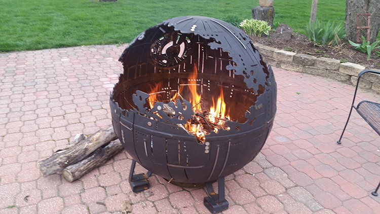 Image result for death star fire pit