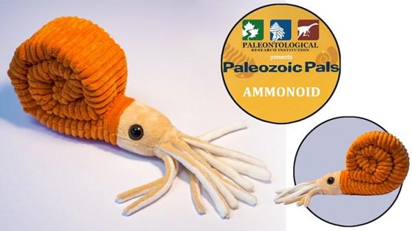 Ammonoid Plushie A Cuddly New Stuffed Cephalopod