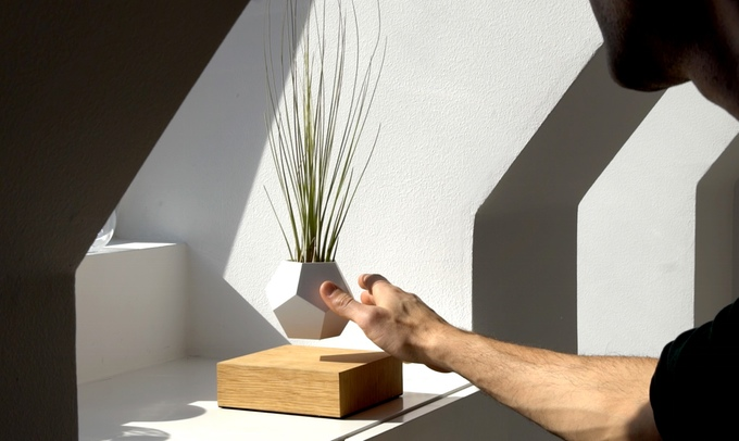 Levitating Plant Kickstarter