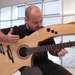 Musician Andy McKee Performs 'Streets of Whiterun' from Skyrim on a Beautiful Combination Harp Guitar