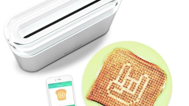 jamy a weather forecasting smart toaster