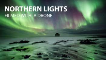 Stunning Footage of the Northern Lights Captured at 35,000 Feet on a