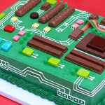 How to Make a Motherboard Cake