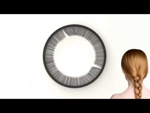 lash clock a silent timepiece wi?resize=640%2C360&ssl=1 the orbits clock, a wall clock with rotating carbon fiber circles Digital Clock Parts at readyjetset.co