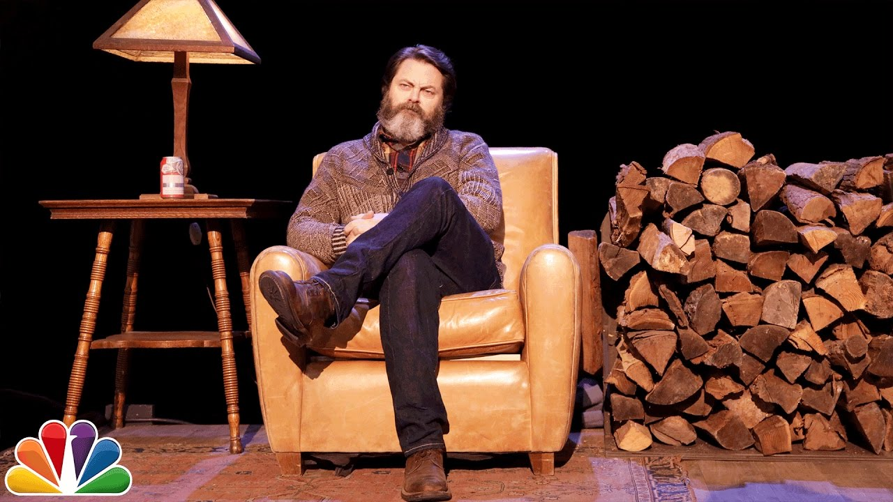 Nick Offerman Tells a Shortened, More Casual Version of 'Twas the ...