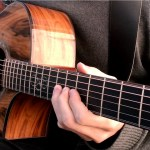 A Beautiful Acoustic Cover of the Iconic Solo From 'Comfortably Numb' Played on a Gorgeous Guitar