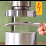 A Hydraulic Press Proves to Be a Poor Match Against the Pure Adamantium in Logan's Claws
