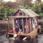 Artist Rides Rivers in a Homemade Shantyboat to Learn About the People Who Live on the Banks