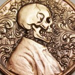 The Fascinating Engraving Process Used to Turn Lincoln's Penny Profile Into a Skull With Scrolls