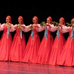 Dancers Appear to Float on Air While Performing a Traditional Russian Folk Dance