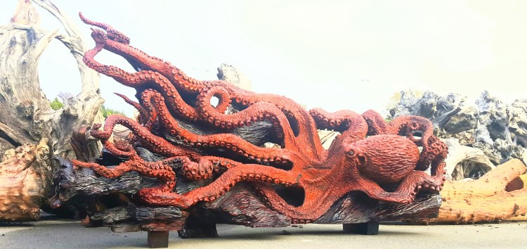 Giant Pacific Octo