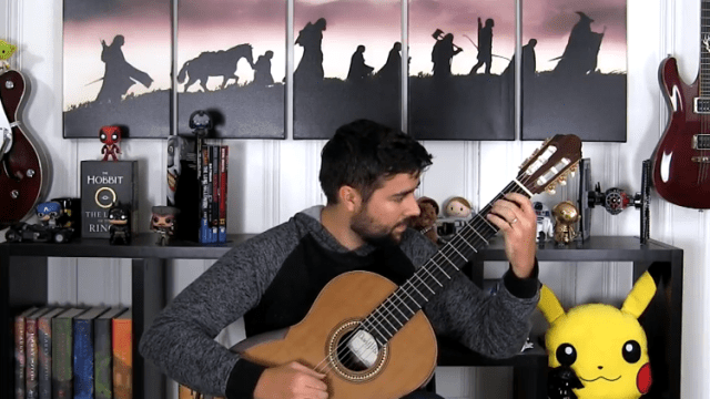 A Classical Guitar Cover of the Evil Morty Theme Song From Rick and