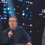Stephen Colbert and John Oliver Interrupt Jon Stewart's Opener During 'Night Of Too Many Stars'