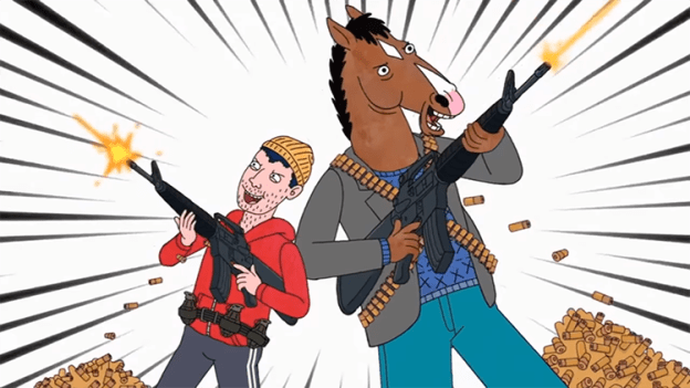 bojack-horseman-and-todd-chavez-rap-along-to-rockstar-by-post-malone-and-21-savage BoJack Horseman and Todd Chavez Rap Alongside to 'Rockstar' via Submit Malone and 21 Savage Random