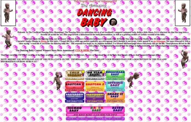 dancing-baby-homepage-e1516823993337 Artist Rob Sheridan Stocks How He Performed a Position in Developing the Notorious Dancing Child Meme Random