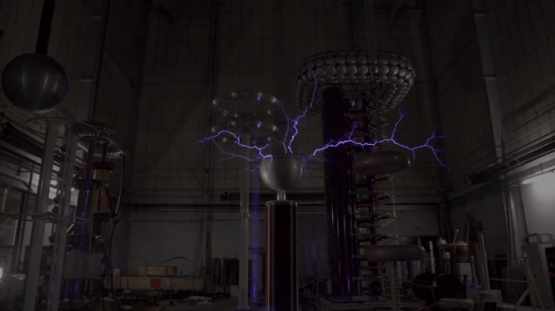 indoor-lightning A British Lab That Creates Lightning Indoors In Order to Predict Failures on the Electrical Grid Random