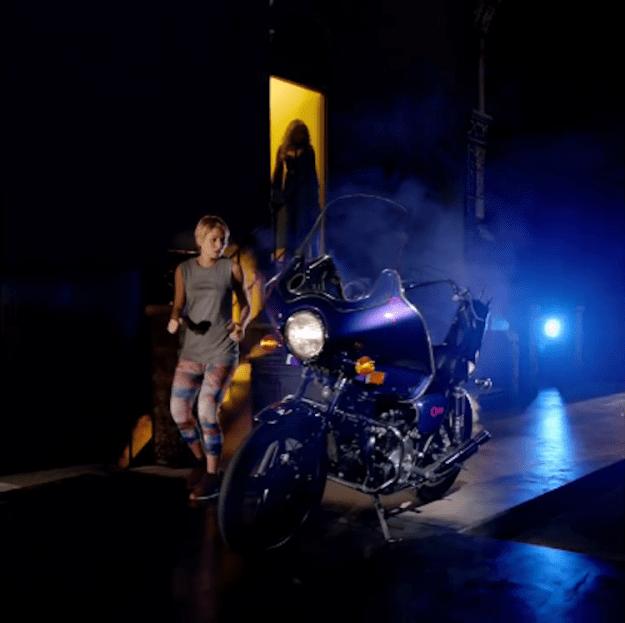 prince-purple-rain Woman Runs Through a Landscape of Real Life Iconic Album Covers In a Michel Gondry Pandora Ad Random