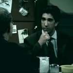 Ross Geller Turns Into a Total Psychopath When the Laugh Track is Removed From 'Friends' Scene