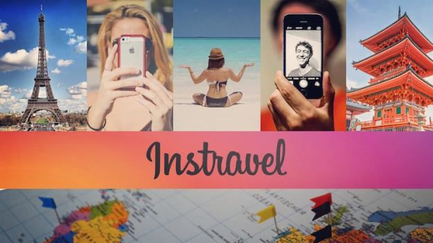 instravel Instravel, A Fascinating Compilation of Selfies Taken In Front of Popular Tourist Destinations Random