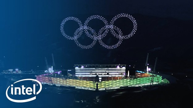 intel-drone-show2 Intel's 1,218 Drone Light Show at PyeongChang Olympic Winter Games 2018 Sets World Record Random