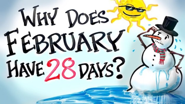 why-does-february-have-28-days The Chaotic History Behind Why There Are Only 28 Days in the Month of February (Plus Leap Year) Random