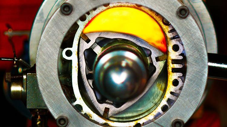 How Rotary Engine Works
