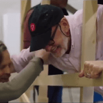 Mark Hamill Gets a Bit Choked Up When He Sees Yoda (Frank Oz) For the First Time on 'Last Jedi' Set