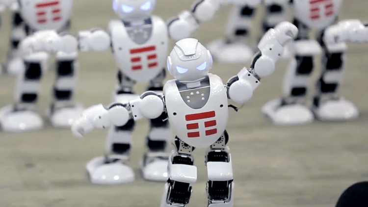 most-robots-dancing-simultaneously Italy Telecom Company Breaks Guinness World Record for the Most Robots Dancing Simultaneously Random