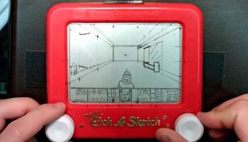 Etch-A-Snap, A Brilliant Raspberry Pi Powered Camera That
