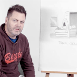 Nick Offerman Brings His Sense of Humor to The New Yorker Cartoon Caption Contest