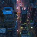 Gorgeous Aerial Footage of New York City Fading into Night Captured in Long Form 12K Resolution