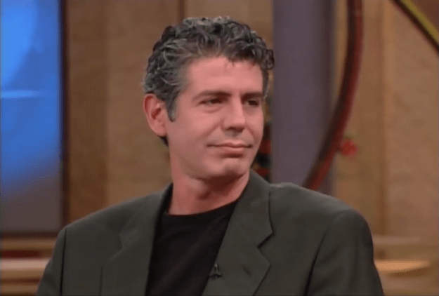 Anthony-Bourdain-on-Oprah Anthony Bourdain Shares His Knowledge About the Obscene Amount of Butter Used in Restaurants Random