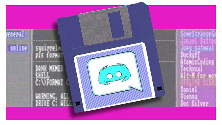 Discord-in-the-Eighties What Discord Would Have Been Like in the 1980s Random