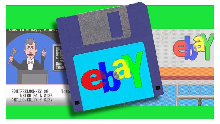 eBay-1988 What eBay Would Have Been Like in 1988 Random
