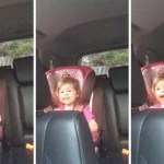 An Adorable Three Year Old Girl Sings 'Bohemian Rhapsody' While Sitting in Her Car Seat