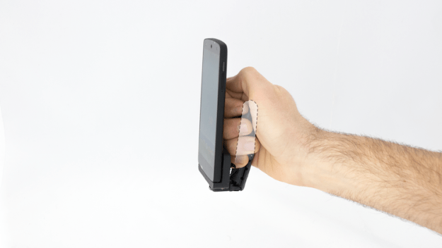 grasp Mobilimb, An Attachable Articulating Robotic Finger That Greatly Enhances Mobile Device Capabilities Random
