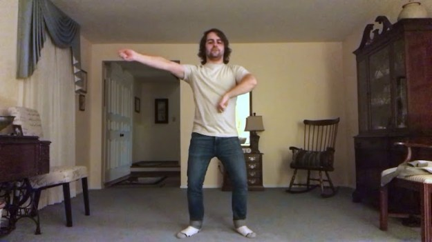 Joe-K-SoftCell-Dance-Routine A Hilariously Descriptive Step-by-Step Tutorial Showing How to Dance to 1980s Soft Cell Song 'Tainted Love' Random