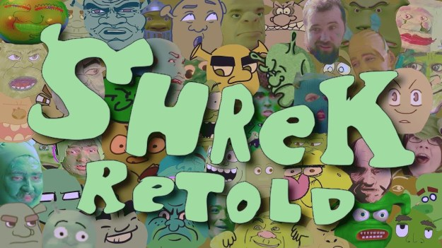 Shrek-Retold-Film 200 People Recreate 'Shrek' Scene-by-Scene Random