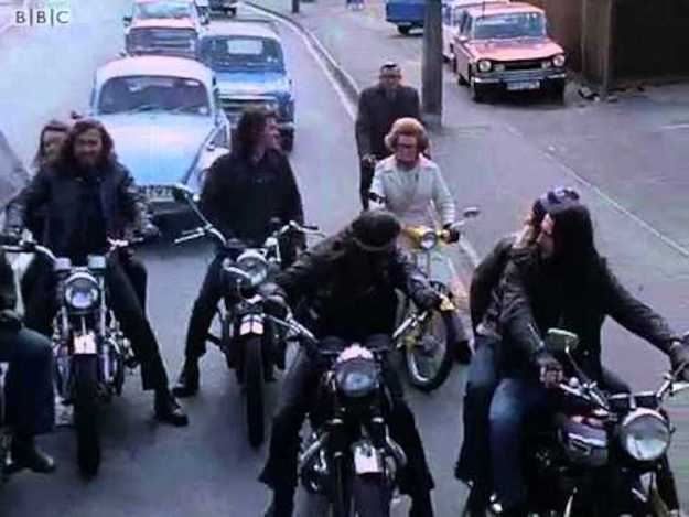 Hells-Angels-London-1973 Classic 1973 BBC Documentary Featuring the Antics of the Hells Angels Motorcycle Club London Chapter Random