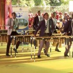 A Brilliantly Choreographed Marimba Dance Routine